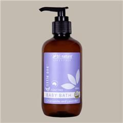 Baby Bath. From $3.95. A gentle, #soap #free indulgence naturally balanced to the pH of your #baby's delicate skin. Essential oils of Chamomile and Lavender provide a calming and soothing experience that won't irritate baby's hair or eyes. Leaves no greasy film around the bath. Chamomile also assists in the #soothing and #healing of dry, cracked, itchy or irritated skin. Ideally followed with the use of Little One Soothing Lotion.