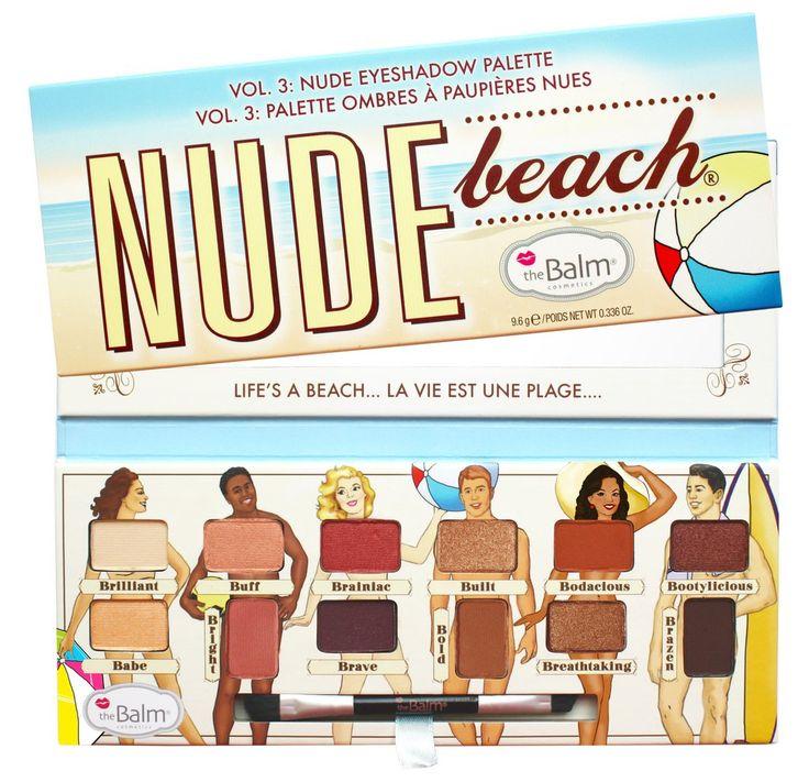 Nude Beach® -- Eyeshadow Palette – theBalm