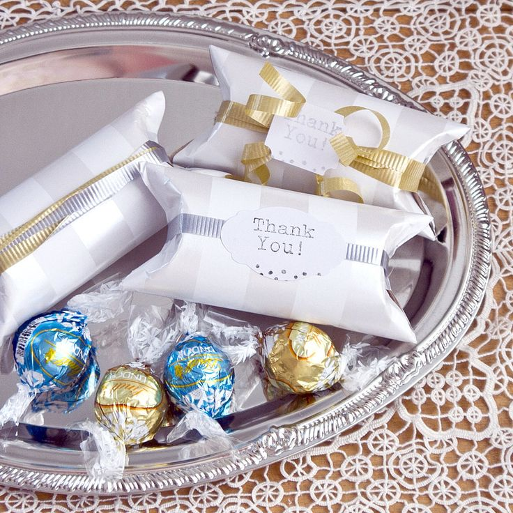 Upcycle Toilet Paper Rolls Into Favor Boxes!: If you're looking for a smart way to save money at your wedding, DIY these toilet paper tube favor boxes that you can fill with goodies.