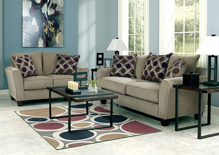 Furniture Outlet | Chicago, IL Trinsic Pebble Sofa & Loveseat