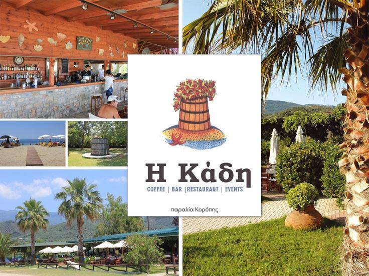 Kadi ~ Bar Restaurant in Pelion,Koropi beach