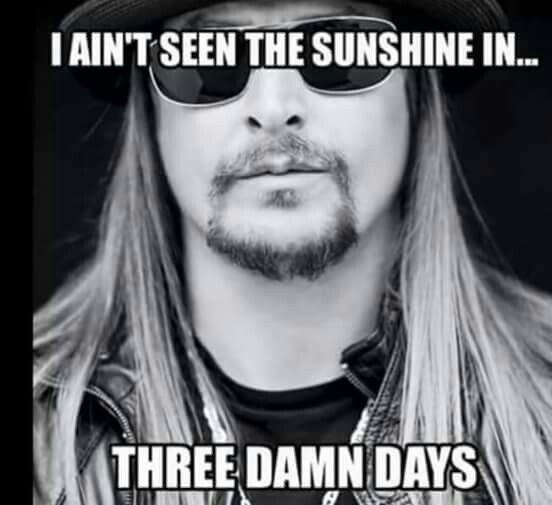 I ain't seen....