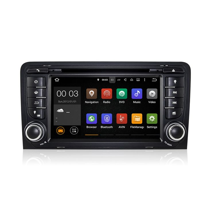 Dashcam+Android 6 0 OS Car Stereo DVD Radio GPS Sat Navi USB SD A For Audi A3 S3