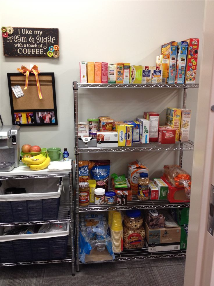 MSU Dorm Room. Food Storage In Shelves Part 37