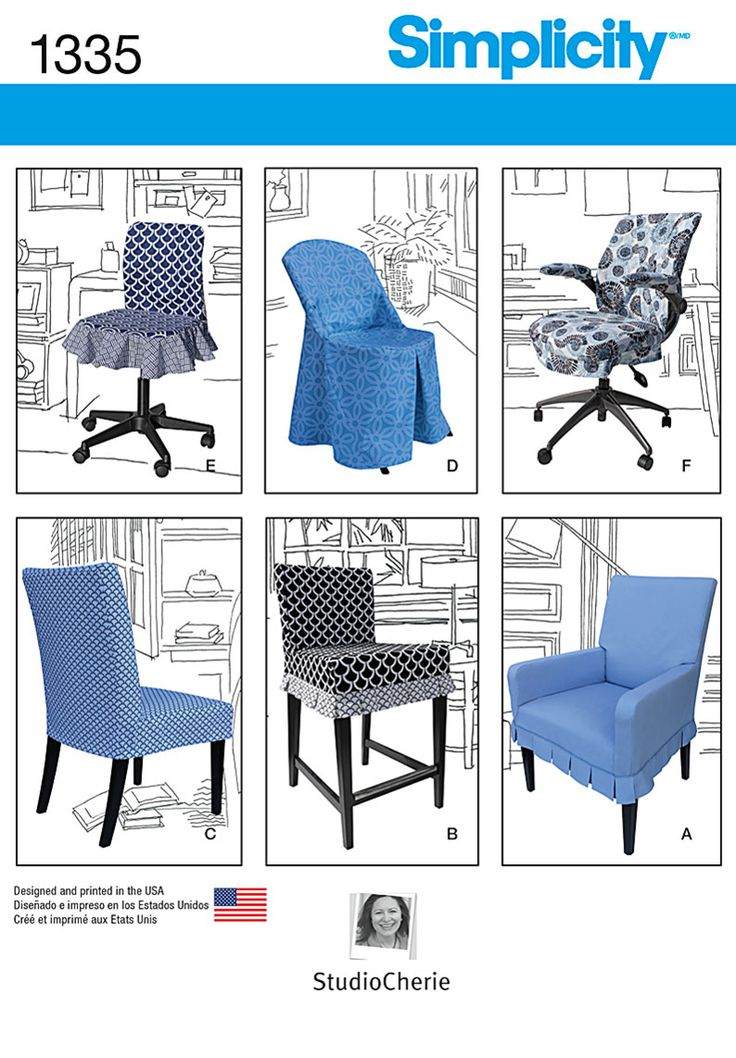 office chair fabric cover. diy chair covers for ikea and realspace chairs with simplicity sewing pattern 1335 office fabric cover