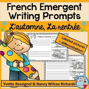 une activité d'écriture PARFAITE pour la maternelle!