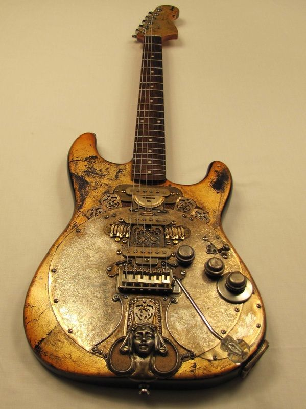 Chalicecaster guitar by Tony Cochran