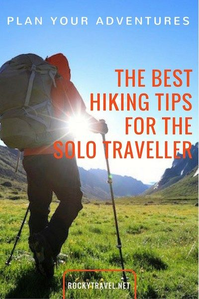 Plan to go hiking alone? These hiking tips will help you gain more confidence and organise your solo hiking trips.