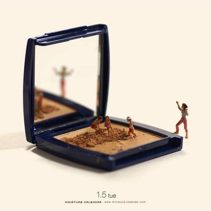 Minyatürlerle Oluşturulmuş 25 Sanatsal Fotoğraf