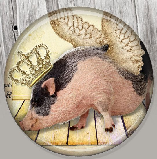 Hey, I found this really awesome Etsy listing at https://www.etsy.com/listing/100453298/shabby-chic-pig-party-favor-pocket