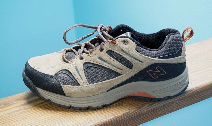Mens New Balance 759 MW759 Brown Suede Walking Hiking Shoes Lace Up 11D Nice! #NewBalance #RunningCrossTraining