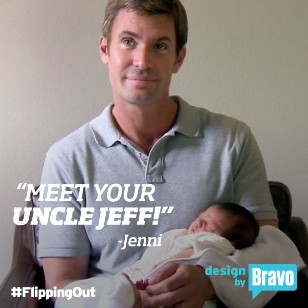 Did you see Jeff Lewis become an uncle last week? How precious is this shot with baby Alianna?