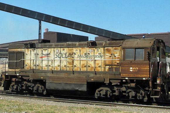 Fos-sur-Mer | la locomotive cuite