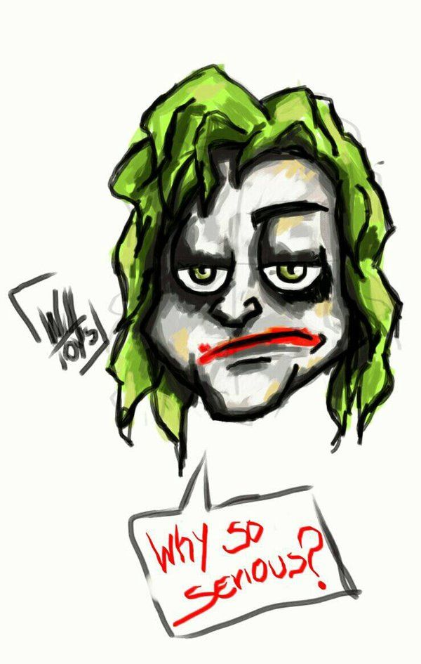 why so seriouse  by willtoys