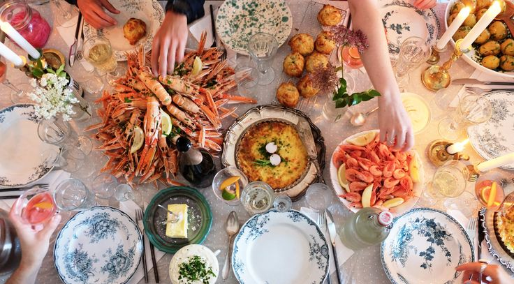 Crayfish party. Recipes, food styling & photography: Louise Ljung