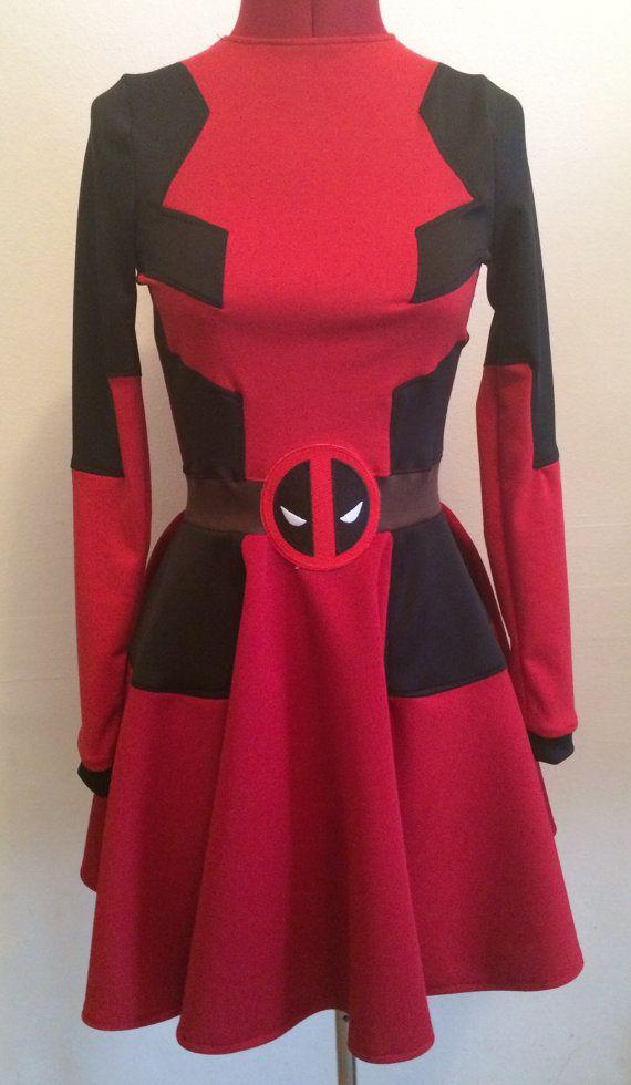 Deadpool dress                                                                                                                                                                                 Más