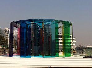 Pavilions for the 350th anniversary of Saint-Gobain (launch in Shanghai) #SaintGobain350