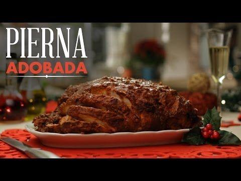 Pierna de Puerco adobada al horno, como hacer... - YouTube