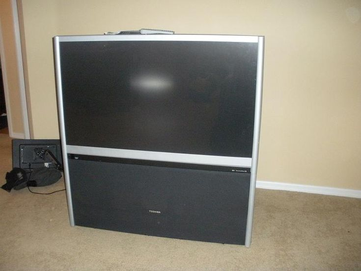 Toshiba 51 Inch Widescreen Hd Compatible Projection In