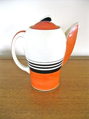 Awesome Susie Cooper vintage coffee pot!