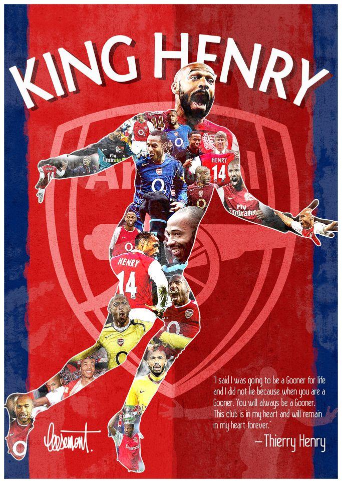 #Kinghenry #Thierryhenry #Arsenal