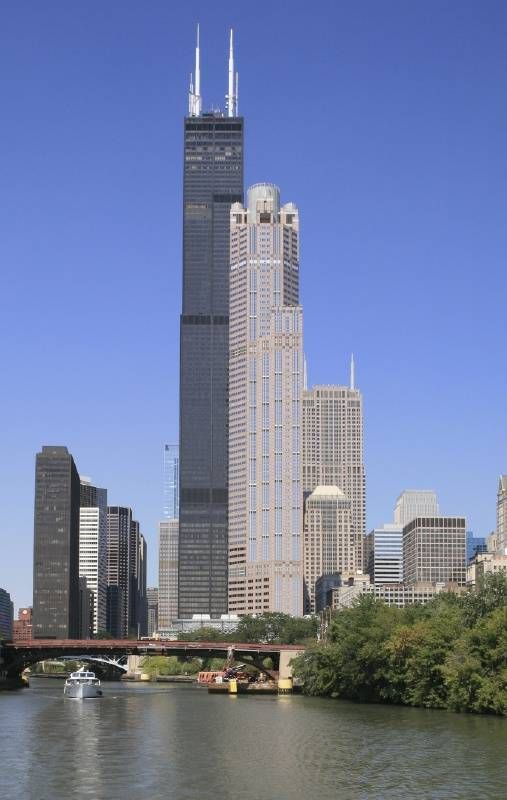 The Sears Tower in Chicago was the world's tallest building when it was built in 1973. Today it is the tallest building in North America.