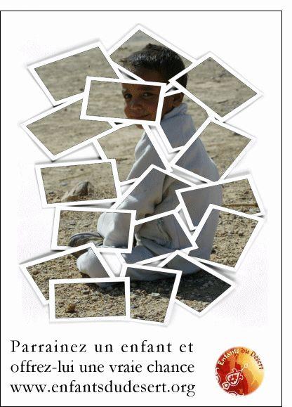 Carte Photos d'un petit garçon marocain pour envoyer par La Poste, sur Merci-Facteur !