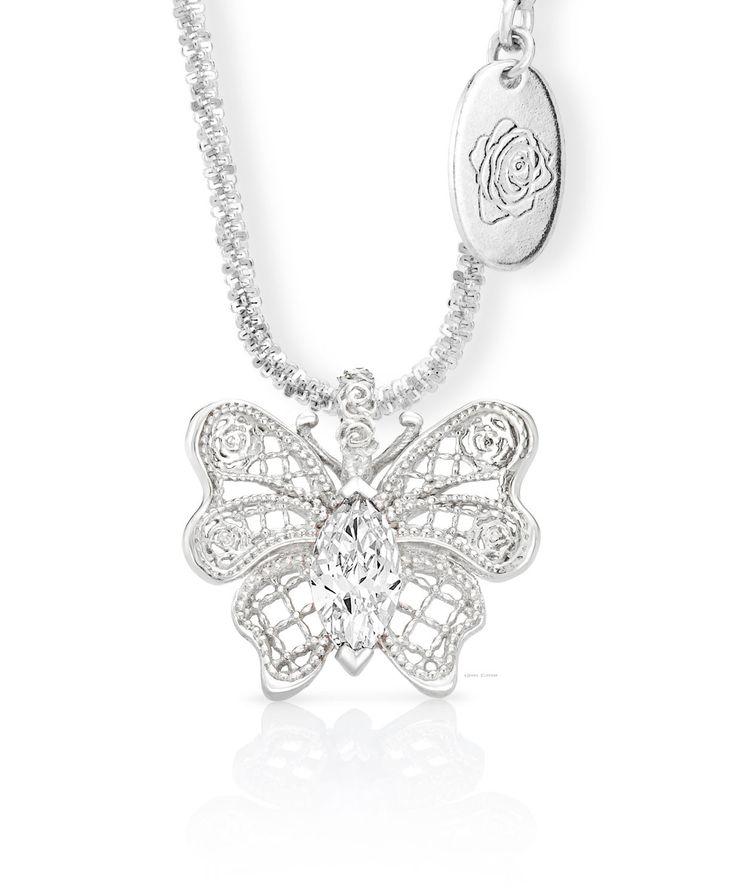 Aldora Butterfly Pendant – Jenna Clifford