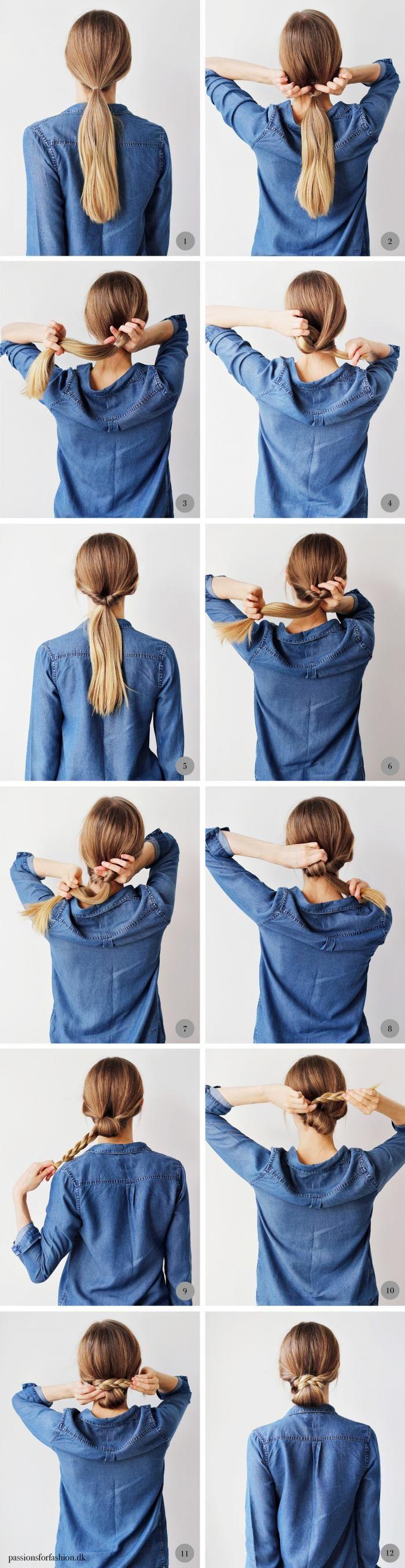 So Easy 超简单简约风编发教学!摆脱披头散发,一周七天不同发型天天美美地出门去。。
