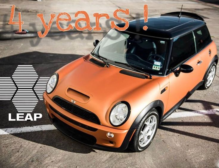 4 years we still are a young company and we have a lot to learn and develop. Stay with us so we can grow old together! . Thank you for this amazing 4 years! . #leapworks #fourthyear #anniversary #leapalpha #leapalphac #mini #coopers #r53 #spoilerextension #dwsparts #dwscars .  @autrey_mcvicker hope you dont mind I used your picture.