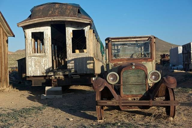 Things People From Nevada Love: 29. Eerily Haunted Ghost Towns