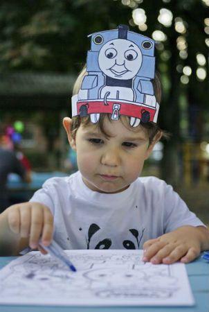 Паравозик Томас! Приключения паровозика Томаса и его дружной компании -сценарий на день рождения