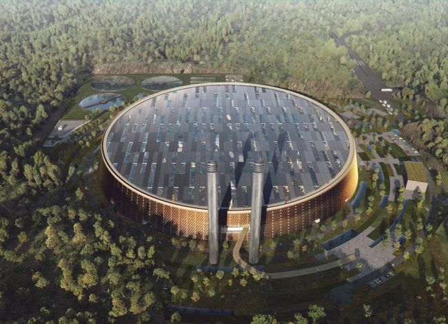 World's largest waste-to-energy plant in #Shenzhen #China #Asia