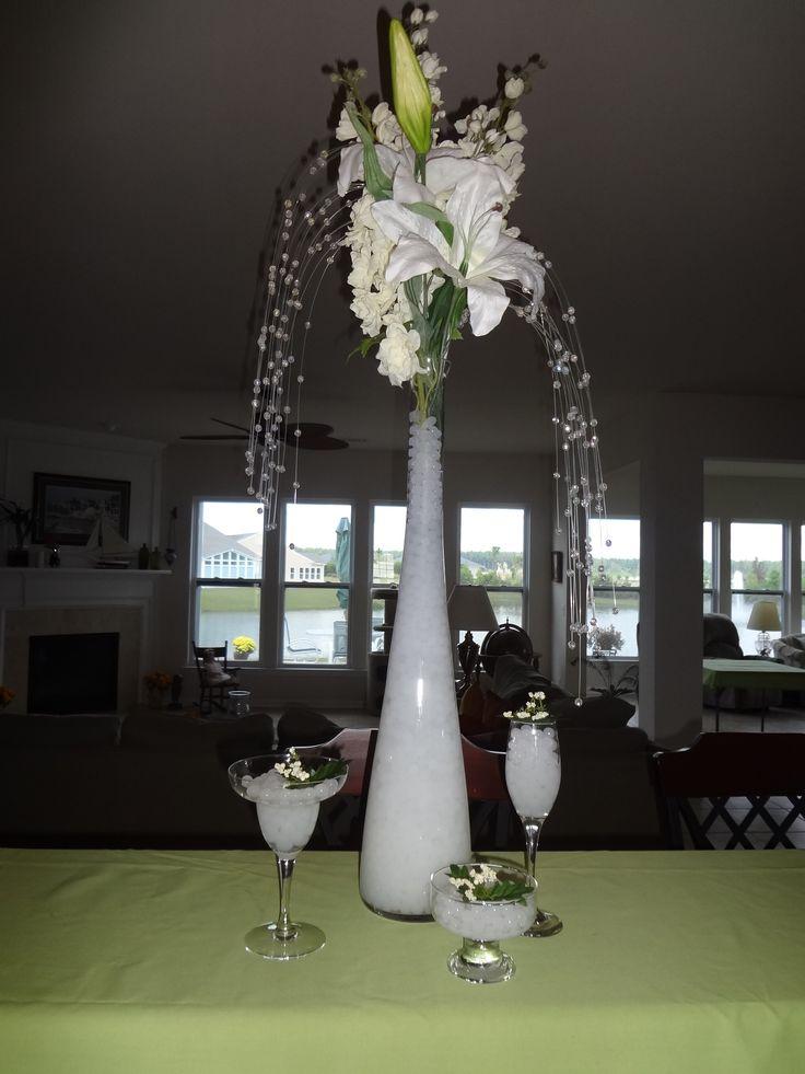 Wedding Centerpiece Ideas Water Wedding Centerpieces