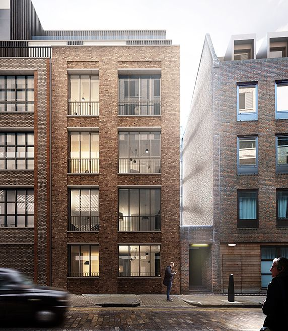 AHMM, Duggan Morris Architects, Stanton Williams, DSDHA, East | Blossom Street (London, UK)