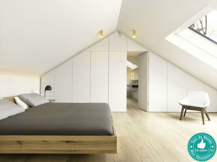 chambre pur e sous les combles toute la visite priv e sur mon d corateur d 39 int rieur quand l. Black Bedroom Furniture Sets. Home Design Ideas