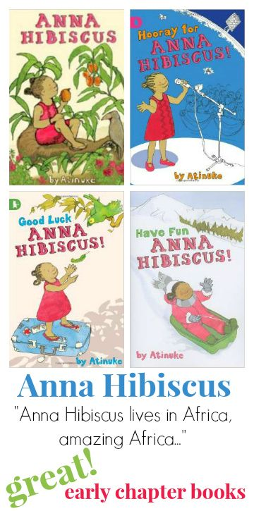 Anna Hibiscus :: Awesome Early Chapter Books for Girls