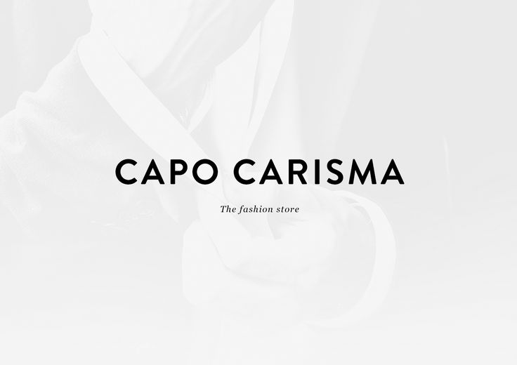 Capo Carisma on Behance