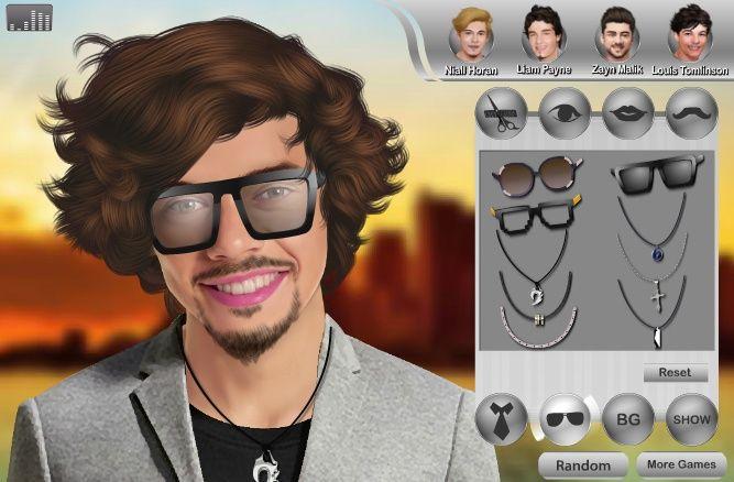 Makeover dei One Direction in concerto