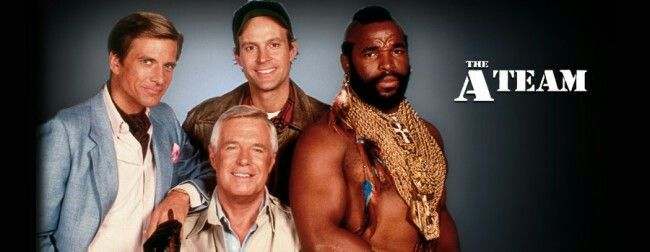 B.A. Barrackus, Murdock, Face & Hannibal were the A-Team. Bro and I loved this show and didn't miss an episode.
