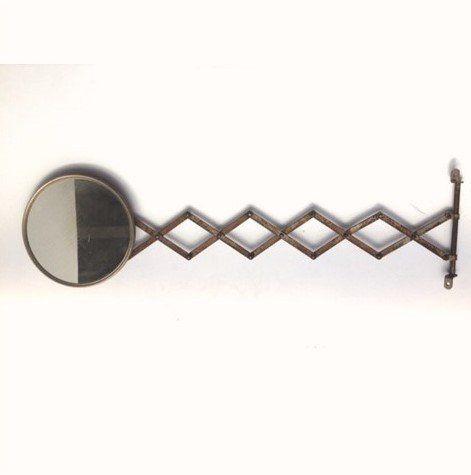 Antique Extendable Bathroom Mirror