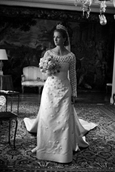 Princess Nathalie zu Sayn-Wittgenstein-Berleburg on er wedding day on 18 June 2011 in Bad Berleburg, Germany.