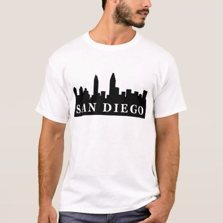 San Diego Skyline T-Shirt - click/tap to personalize and buy