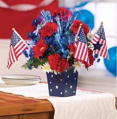 30 best images about patriotic ideas on pinterest red for American flag decoration ideas