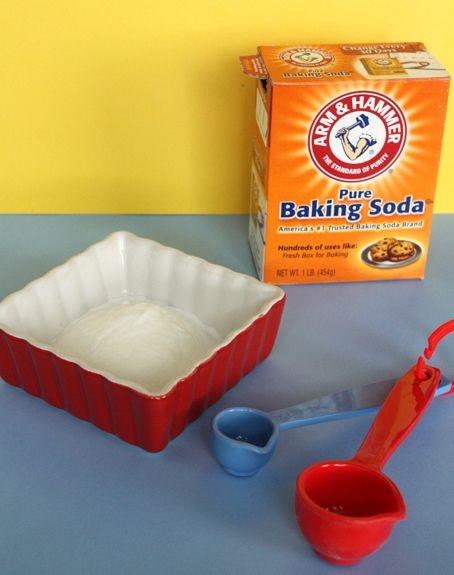 DIY Facial! Step 1: 3 parts baking soda, 1 part water. Mix ...