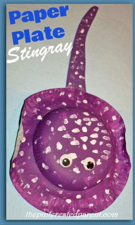 Paper Plate Stingray