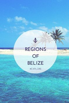 From the beaches in the east to the untamed jungles of the west, we've broken down every region of this beautiful country. #Belize #Caribbean #adventure #travel