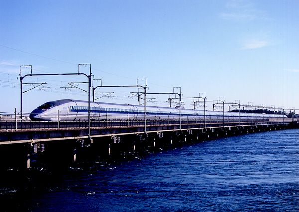 JR西日本500系新幹線「のぞみ」