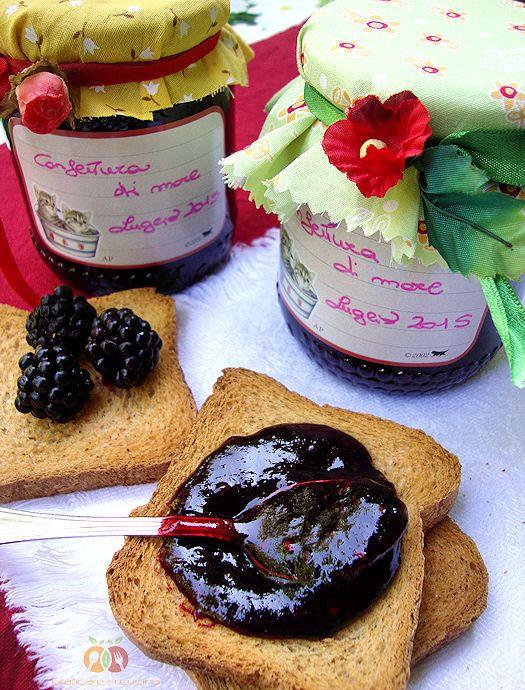 Confettura di more http://blog.giallozafferano.it/graficareincucina/confettura-di-more/