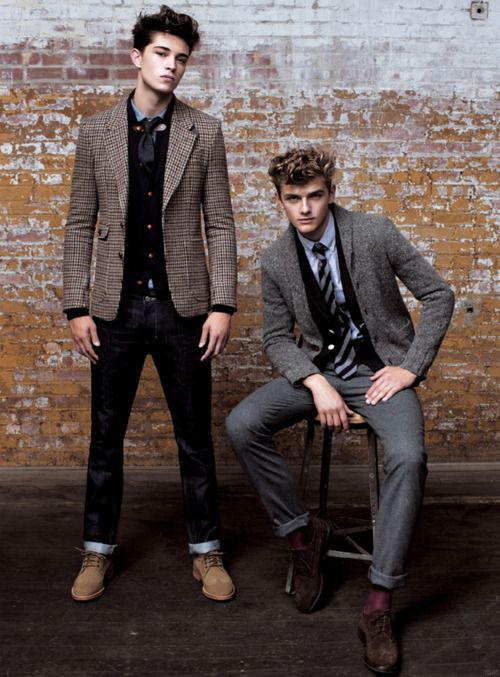 Guys who dress like this are so much more sexier. Then the guys who dress like they have swag.